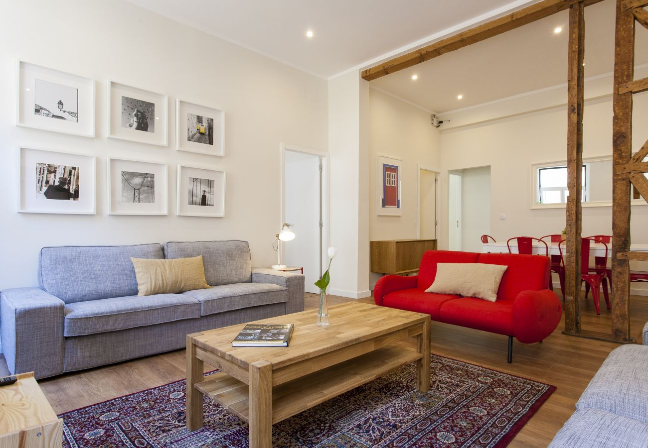 Apartamento em Lisboa - Central Downtown 3D up to 17guests by Central Hill